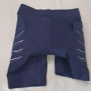 Stella mccartney purple cycle shorts